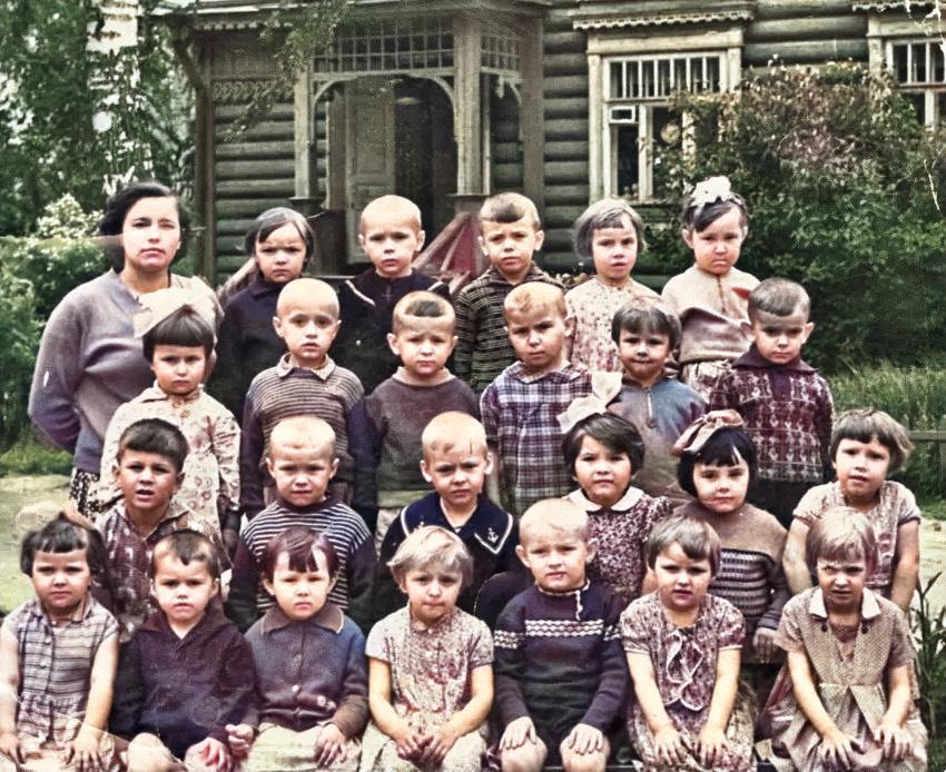 colorized image 11 1 - Дача Агеева Пионерская 10 в цвете
